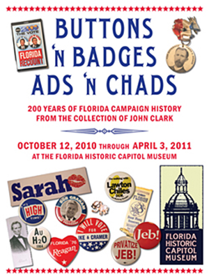 Buttons 'n Badges, Ads 'n Chads exhibit image