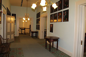 Reception Room to the Governor's Office